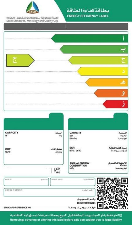 Change of the Form of Energy Efficiency Labels from